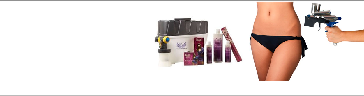 SPRAY TANNING AND ACCESSORIES