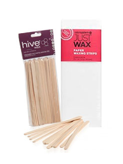 SPATULAS AND WAX STRIPS